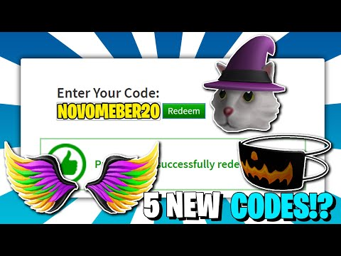 *6 Code!?* ALL NEW PROMO CODES in ROBLOX !?! (October 2020)