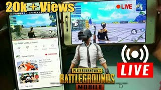 How To Stream PUBG MOBILE on Youtube From Any Android Device.