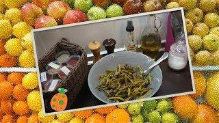 №32. Салат с грибами и маринованными корнишонами