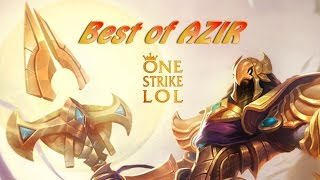 AZIR Montage | BEST OF AZIR ONE STRIKE | SEASON 6