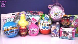 LOL Pikmi POPS FLIPS Kinder MAXI Surprise EGG DOLLS Puppy Dog Pals Toy Surprises Opening for KIDS