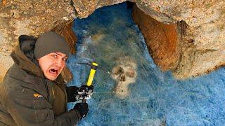 Эти опасные и жуткие находки мы нашли во льдах под землей где затонул скелет