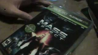 Mass Effect Platinum Hits Edition Unboxing
