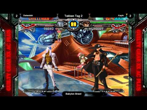 Guilty Gear XX Accent Core +R @ Babylon Brawl - Top 3