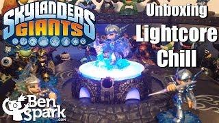 Unboxing Skylanders Giants Lightcore Chill