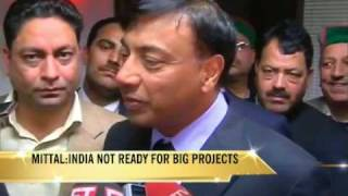 India not ready for mega investment: LN Mittal