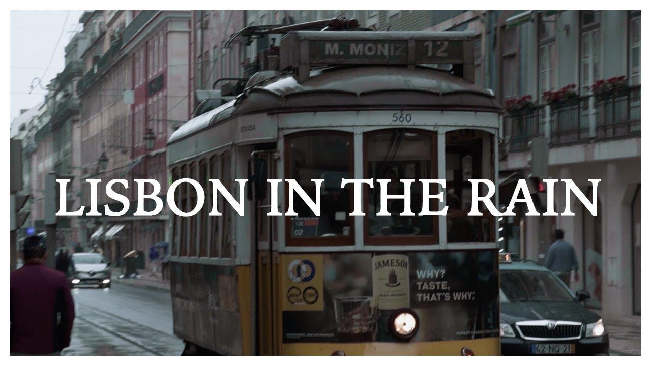 Lisbon in the Rain