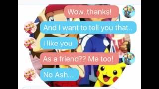 Serena x Ash Texting Pt.2 : Serena's Confession