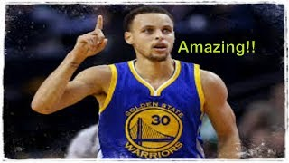 Stephen Curry Greatest Three Pointers (compilation) **Insane**