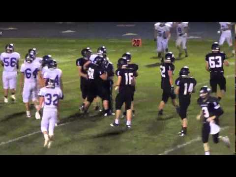 Logan Vandemark, Spencerville High School, Class of 2015, Football
