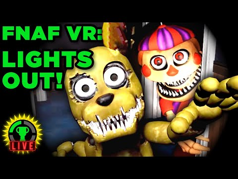 FNAF VR - What is the Glitch? | Five Nights At Freddy's VR: Help Wanted (Part 4)