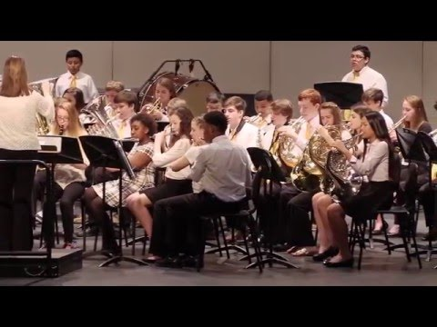 Sampson MS 8th Grade Band - Above and Beyond - James Swearingen