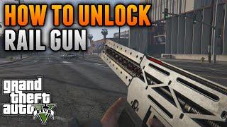 """GTA 5 Glitches - UNLOCK THE RAILGUN IN SECONDS! How To Unlock The Railgun on GTA 5 """"GTA 5 Glitches"""""""