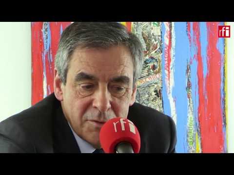 François Fillon s'exprime sur sa vision de la politique étrangère