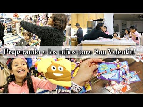 En verdad esto FUNCIONA? | Preparando a LOS NIÑOS para SAN VALENTIN!! VLOGS DIARIOS #234