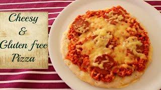 Cheesy Gluten Free Pizza Recipe