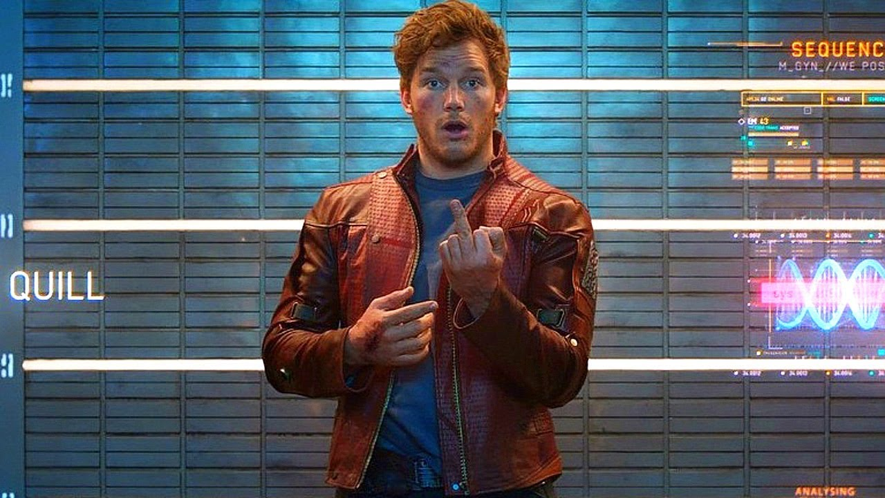 Download Star-Lord Middle Finger Scene - Guardians Of The Galaxy (2014) Movie Clip HD