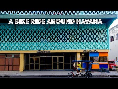 Vedado, Bicycle Ride and Travel Guide, in Havana Cuba
