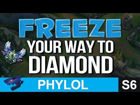 FREEZE TO DIAMOND - Abusing Lane Control to CLIMB - League Basics 2