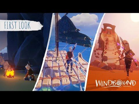 Lite gameplay och utvecklarsnack från Windbound Lite Wind Waker-känsla över det hela