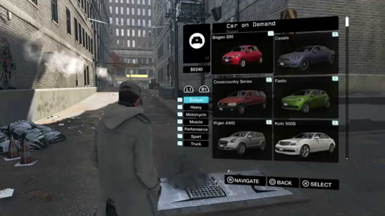 Watch Dogs U2122 User Interface Preview