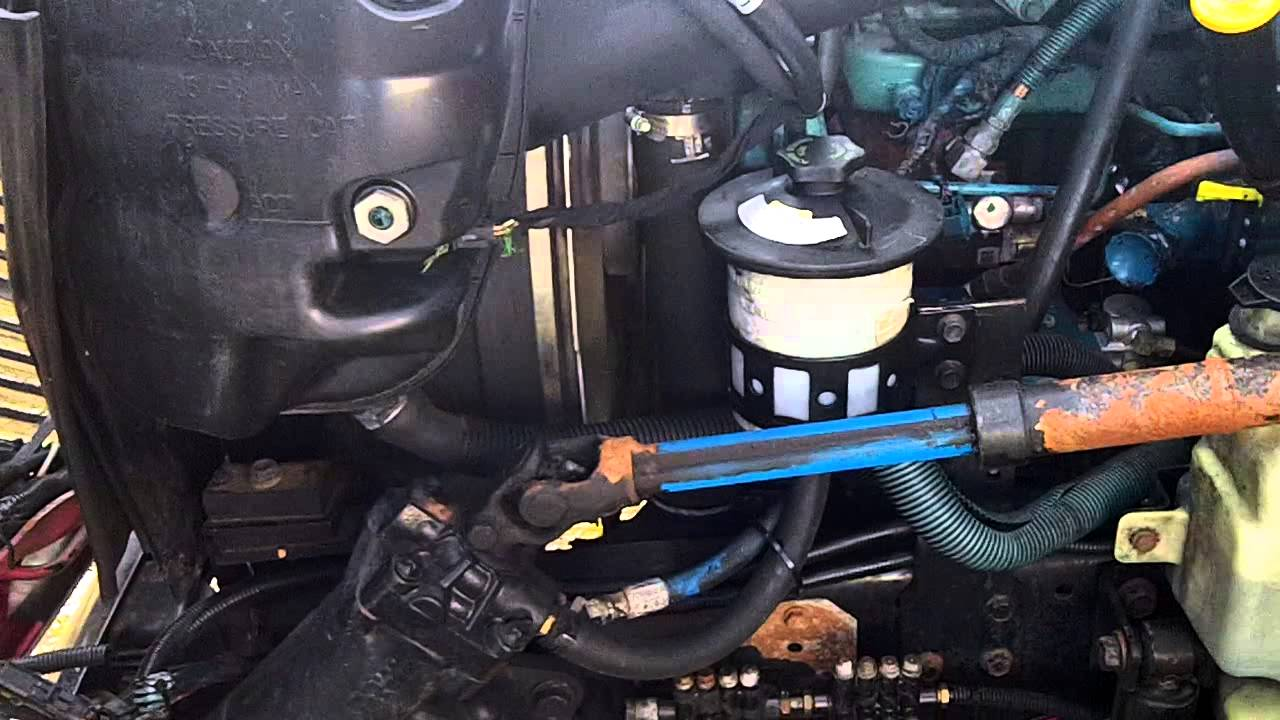 international maxxforce fuel filter location
