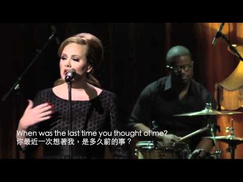 iTunes Festival - Adele Don't You Remember HD Live (中文字幕/English Lyrics)
