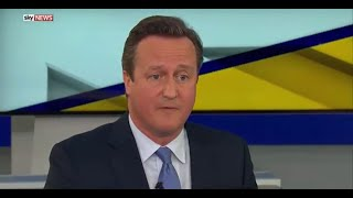 Prime Minister David Cameron admits that Boris Johnson is a very talented politician