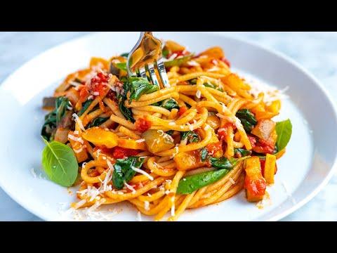 Fresh and Easy Veggie Spaghetti