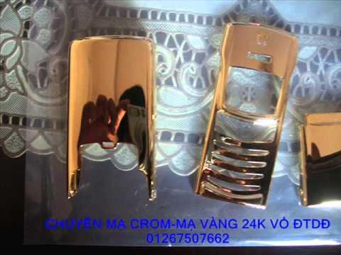 Chuyên xi mạ crom-mạ vàng 24k phụ tùng xe máy,pkl,ôtô,vỏ đtdđ cao cấp.wmv