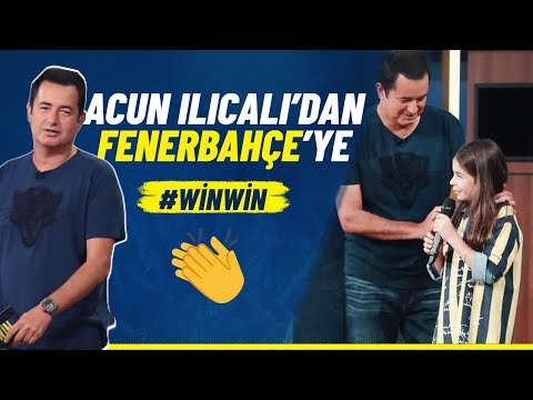 Acun Ilıcalı'nın Fenerbahçe'ye Özel Bağışı #WİNWİN