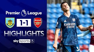 Horrendous Xhaka error & TWO controversial VAR calls! 😳 | Burnley 1-1 Arsenal | EPL Highlights