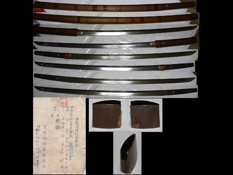 #542 400 yr old Japanese Samurai Sword mumei 無銘 90cm katana Nihonto blade