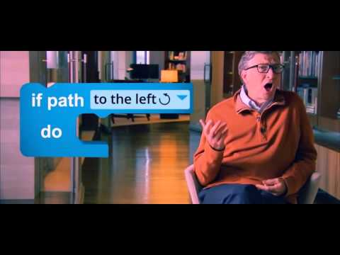 Bill Gates Teachs How To Use IF Statement (Computer Programming)