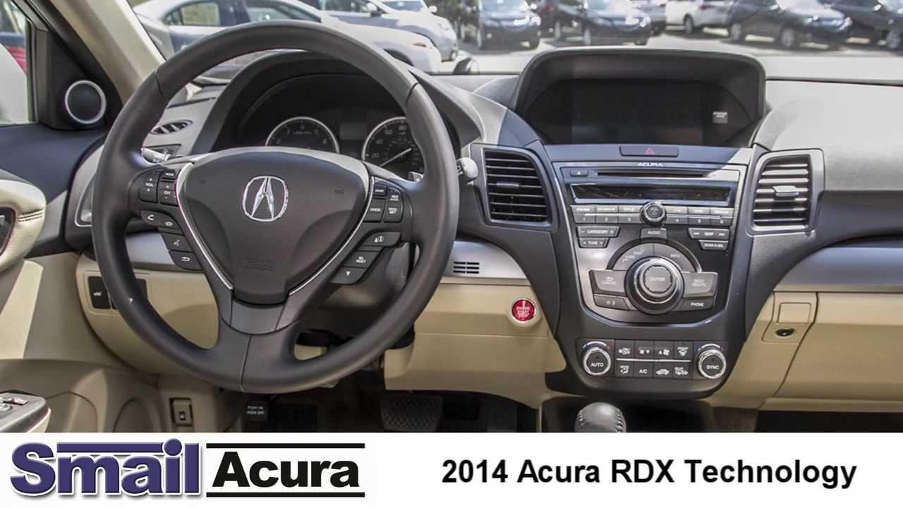 2014 Acura Rdx Technology Features Youtube