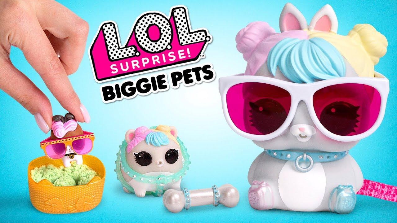 L.O.L. ¡Sorpresa! Biggie Pets | Serie Eye Spy