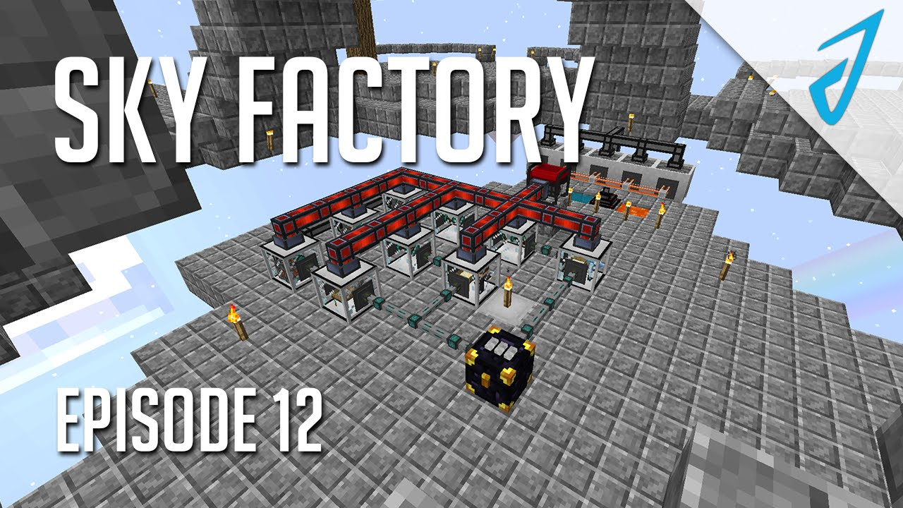 Sky Factory 2 5: ORE AUTOMATION! (Episode 12)