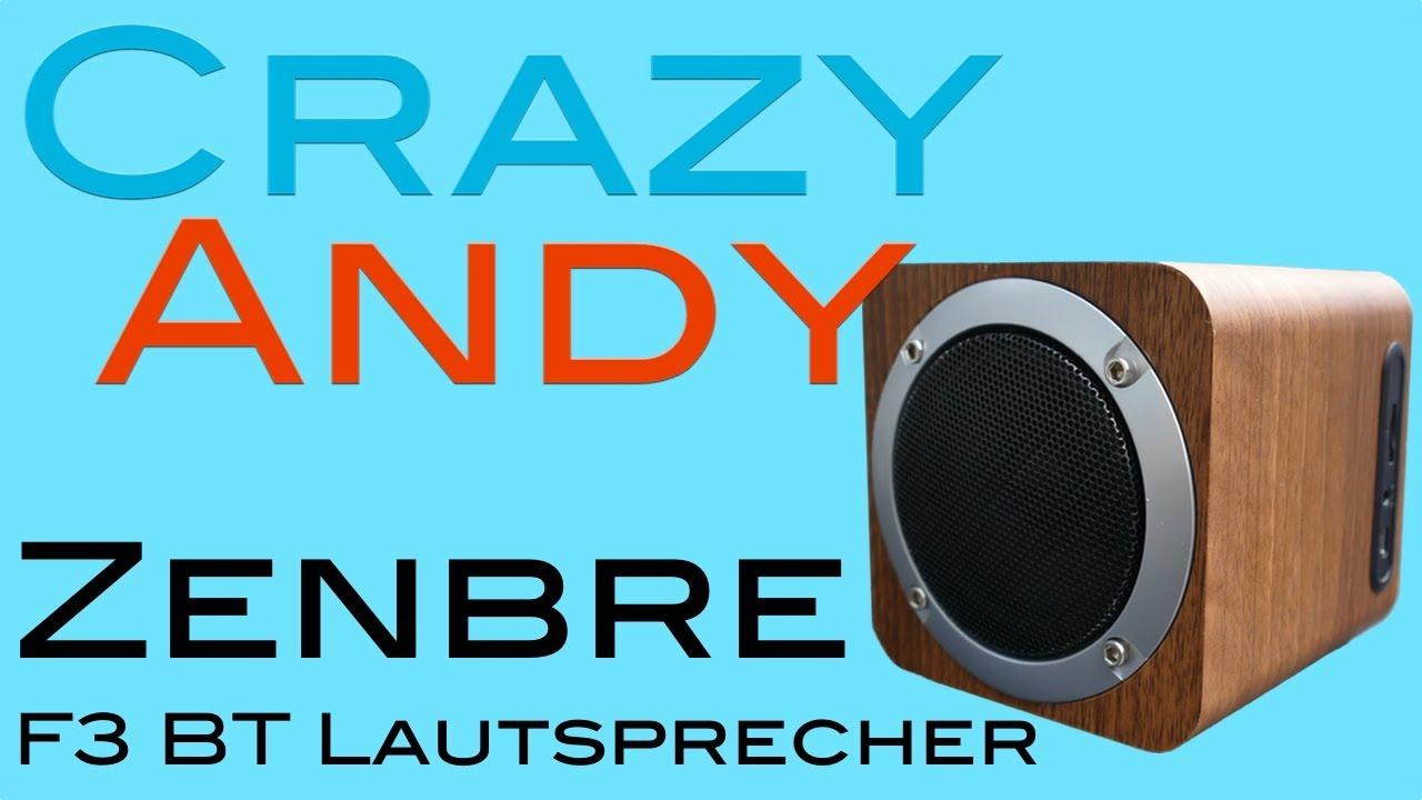 Zenbre F6 BT Lautsprecher REVIEW & Test