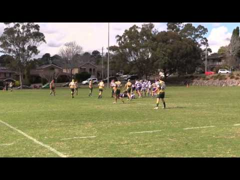 2014 Beecroft CherryBrook Rugby Union U16 vs Lane Cove