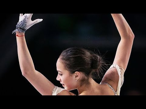 ALINA ZAGITOVA - Cup Of Russia SP   Tv Asahi  Ростелеком 2018  КП с переводом комментариев японцев