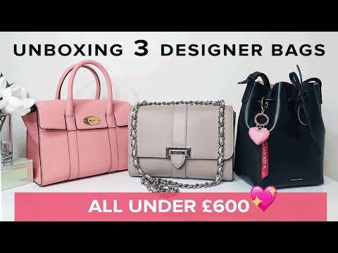 3 NEW Designer Bags ALL UNDER £600 | Sophie Shohet Luxury  | Aspinal, Mulberry, Mansur Gavriel