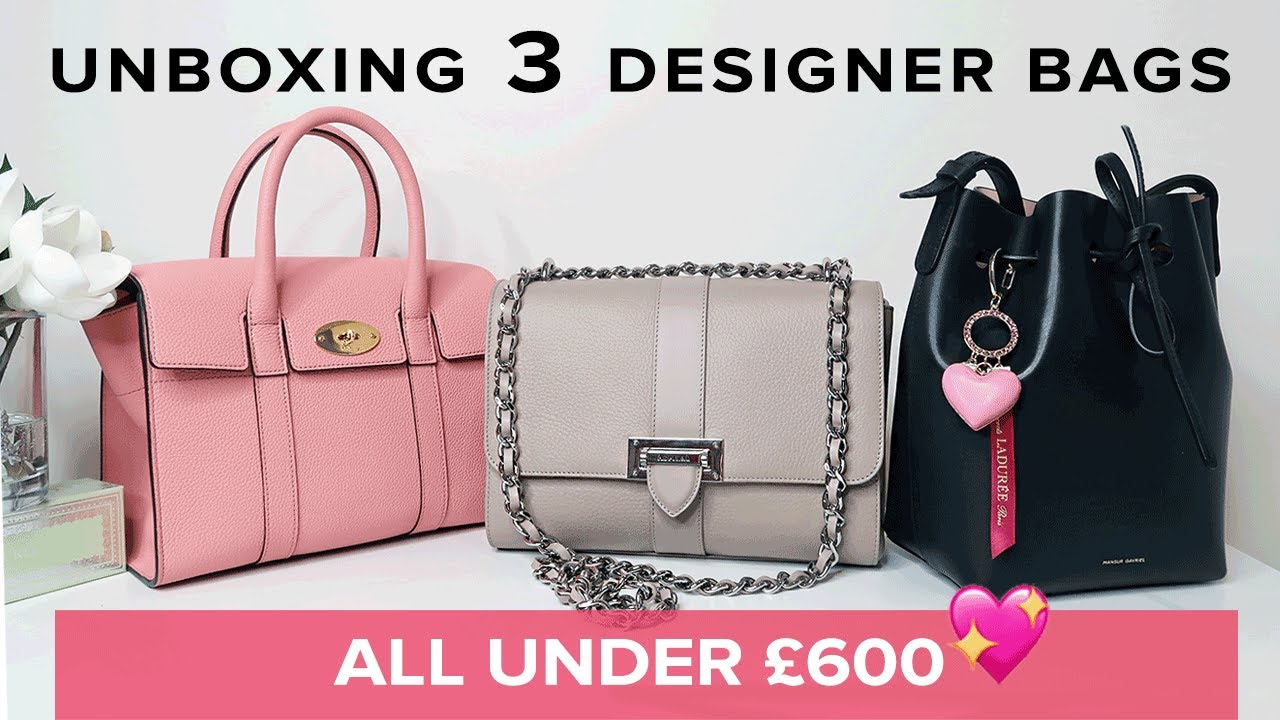 3 New Designer Bags All Under 600 Sophie Shohet Luxury Aspinal Mulberry Mansur Gavriel Ad