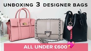 3 NEW Designer Bags ALL UNDER £600 | Sophie Shohet Luxury  | Aspinal, Mulberry, Mansur Gavriel