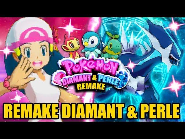 Youyou pikachu le retour de la 4g ! remake pokemon diamant et perle ! un nouveau monde !
