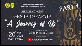 GENTA CAYAPATA : A JOURNEY OF US - 1st ANNUAL CONCERT BY MELODYNOMI CHOIR || PART 1