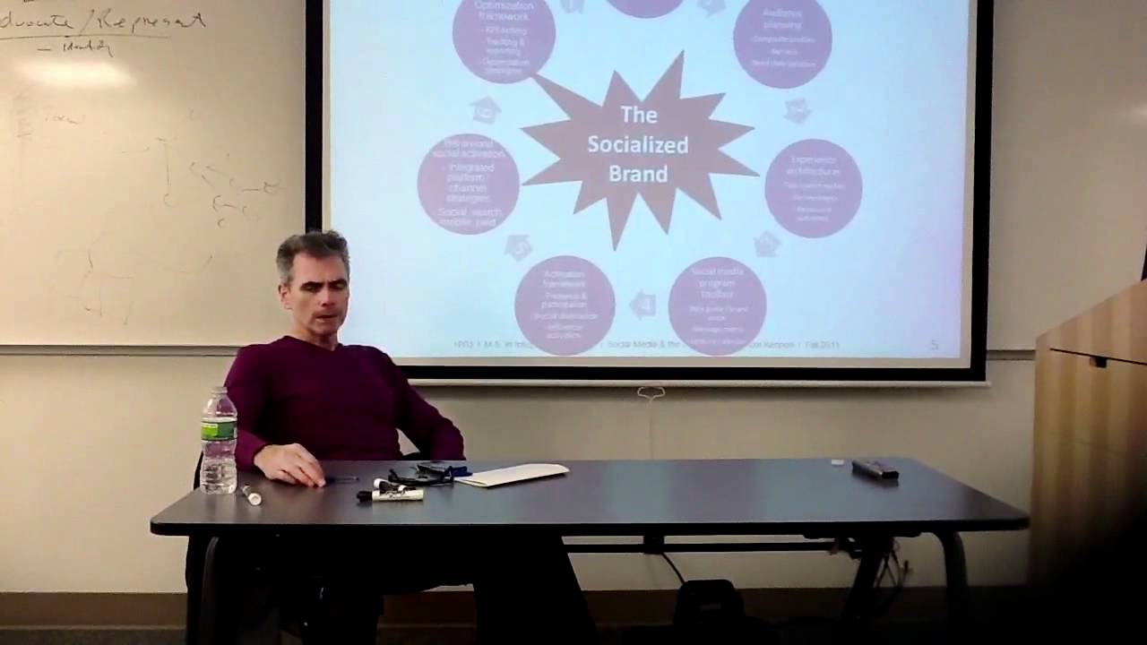 NYU Master's in Marketing: Thom Kennon - YouTube