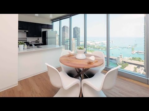Tour a 2-bedroom apartment at Coast at Lakeshore East