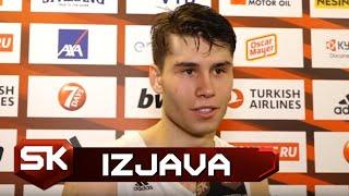Mario Nakić Nakon Osvajanja Juniorske Evrolige sa Realom   SPORT KLUB Košarka