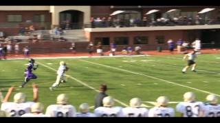 Areg Nazarian #22 (ST Francis High School) 70 Yard Touchdown Vs Cathedral
