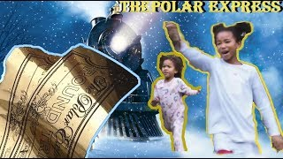 😱 Surprising kids with The Polar Express Train for Christmas 🚂